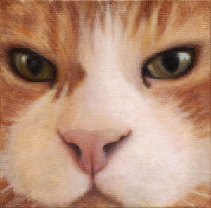 Pet Portrait Cat Painting by Dana Feagin-Inspired Pet Portraits and Animal Paintings by Dana Feagin