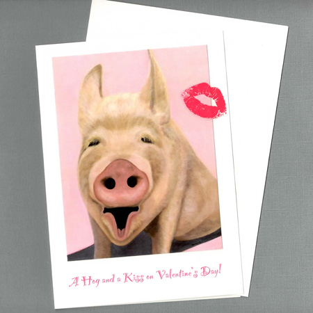 A Hog and a Kiss for Valentine's Day